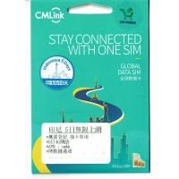 China Mobile 中國移動 CMLink 印尼 5日 無限上網數據卡
