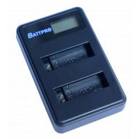 BattPro Olympus Li-40B 雙位電池USB充電器