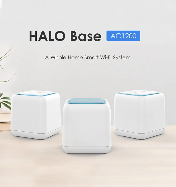 Wavlink HALO Base AC1200 Dual-band Whole Home WiFi Mesh System with Touchlink (A23 3件裝)