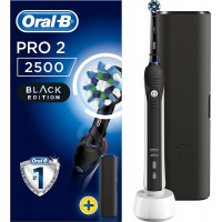 Oral-B PRO 2 2500 CrossAction Rechargeable Electric ToothbrushBlack Edition