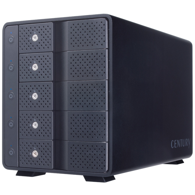 Century HDD CASE  USB3.1 Gen.2 (5Bay) CRCM535U31CIS