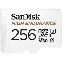 SanDisk 高耐久度 microSD 卡 256GB [R:100 W:40]