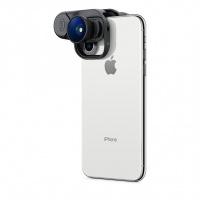 Olloclip Essential 魚眼 + 廣角 + 微距鏡頭,適用於 iPhone XS