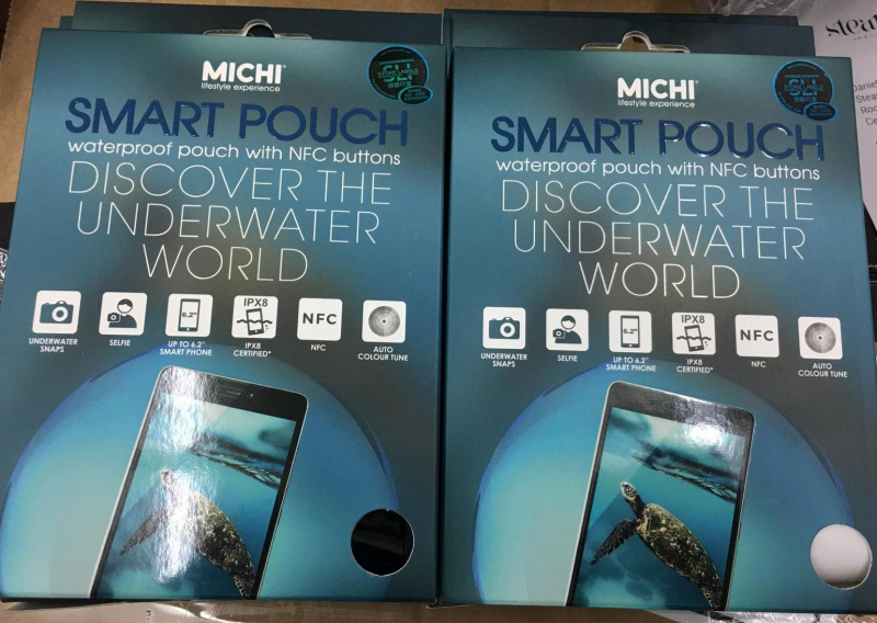 MICHI Smart Water Proof Pouch 智能防水袋 IPX8 MICHI-001WP