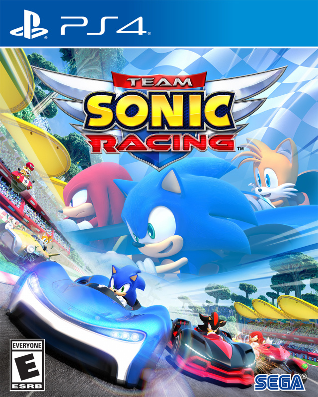SEGA PS4 Team Sonic Racing 中文版