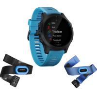 GARMIN Forerunner 945 Blue Tri Bundle (雙心心率感測器 + 雙錶帶套裝) 英文版