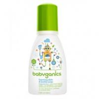 Babyganics Foaming Dish & Bottle Soap 甘尼克泡沫型奶瓶餐具清潔液 100ml