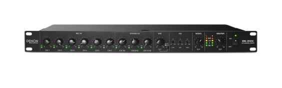 Denon 12-Channel Line Mixer with Priority DN312X