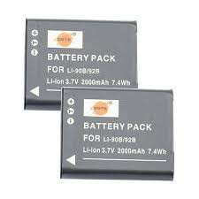 DSTE DB-110 Battery 鋰離子充電池 (For Ricoh GR3) 2PCS