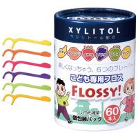 Flossy 小朋友專用水果味牙線 (60支)