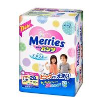 Kao 花王 Merries 學習褲 加加大碼XXL28片