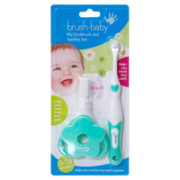 Brush Baby First Brush and Teether Set