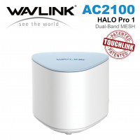 Wavlink HALO Pro 1 - AC2100 Dual-band Whole Home Wi-Fi Mesh System with Touchlink WL-WN552K1 (單件裝)