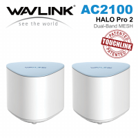 Wavlink HALO Pro 2 - AC2100 Dual-band Whole Home Wi-Fi Mesh System with Touchlink WL-WN552K2 (2件裝)