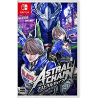 Nintendo NS Astral Chain 異界鎖鏈 中英日文版