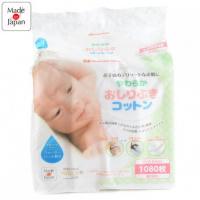Akachan Honpo 嬰兒用脫脂純棉片1080片 (8x6cm)