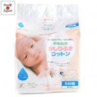 Akachan Honpo 嬰兒用脫脂純棉片540片 (8x12cm)