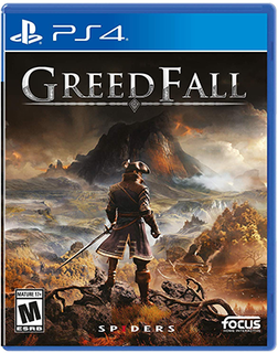 Spike Chunsoft PS4 GreedFall 貪婪之秋 中英合版