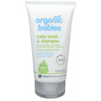 Green People 嬰兒有機無香味洗髮水沐浴露 150ml