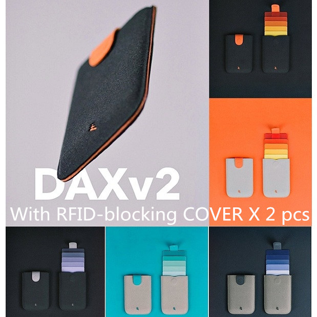 Allocacoc DAX V2 Wallet Microfiber Leather 皮革手工卡片收納夾