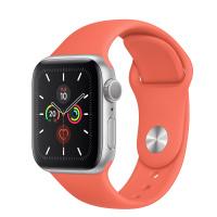 Apple Watch Series 5 (GPS) - 40毫米銀色鋁金屬錶殼配運動錶帶