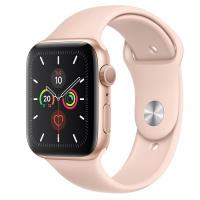 Apple Watch Series 5 (GPS) - 44毫米金色鋁金屬錶殼配運動錶帶