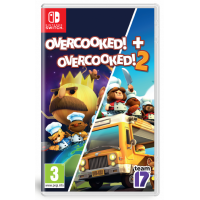 Team17 Overcooked! + Overcooked! 2 (繁中/簡中/英/日文版) - 歐版