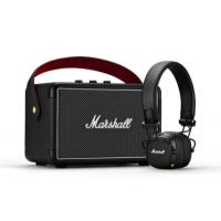 Marshall Kilburn II Bluetooth Speaker + Major III Bluetooth Headphone Bundle Set