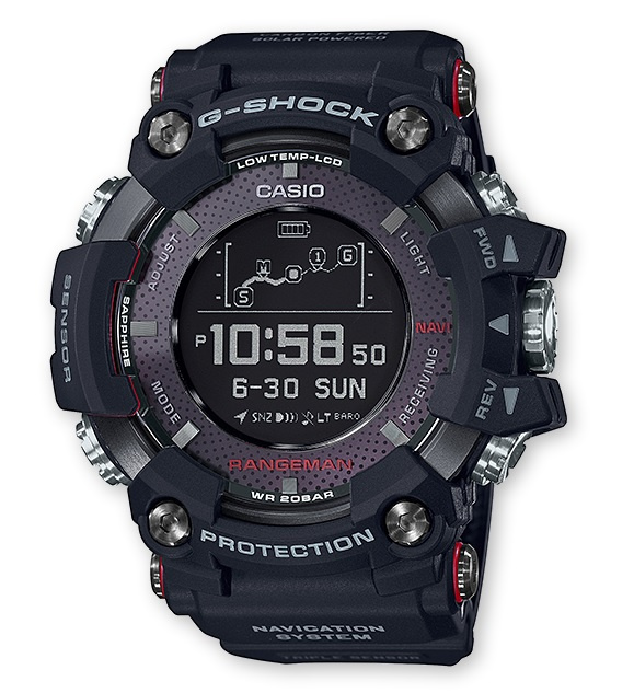 Casio G-Shock Rangeman 野外求生手錶 GPR-B1000-1