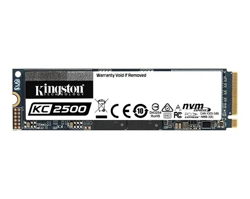 Kingston 500GB KC2500 M.2 2280 NVMe SSD (SKC2500M8/500G)