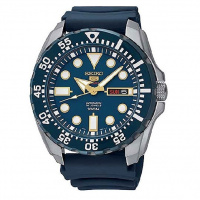 Seiko 5 Sport 藍面潛水自動機械手錶 SRP605K2