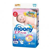 moony 紙尿片 細碼S 90片 (標準裝)