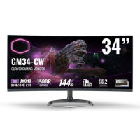 "Cooler Master 34"" Curved Gaming Monitor GM34-CW"