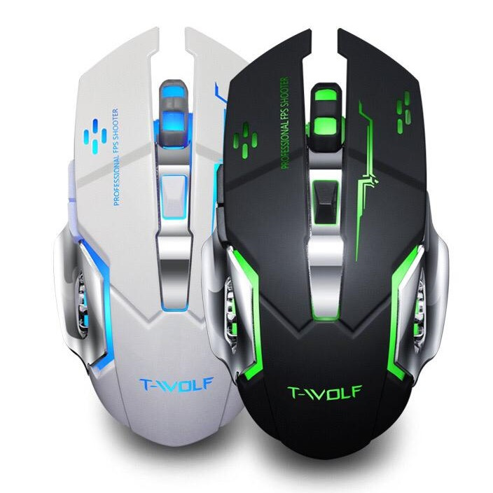 T-WOLF Rechargeable Wireless Mouse Q13