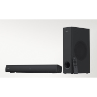 Creative Stage V2 2.1 Soundbar and Subwoofer with Clear Dialog and Surround by Sound Blaster