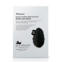 JMsolution 黑臻蠶絲軟膜 Black Cocoon Home Esthetic Modeling Mask 50g+5g*5