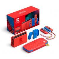 Nintendo Switch Mario 瑪利歐 亮麗紅 x 亮麗藍 遊戲主機套裝