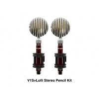 Vanguard V1S+Lolli Pencil Condenser Microphone Stereo Kit