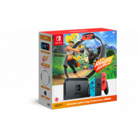 Nintendo Switch + RingFit Adventure 健身環大冒險套裝