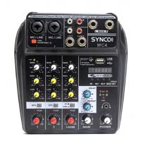 Synco 四路專業小型迷你混響器 MC4