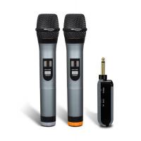 KWUN YICK Wireless UHF Microphone 一拖二無線咪